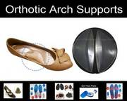 Silicone Orthotic Arch Supports £7.90