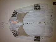 Elisa Cavaletti Brand New white Blouse/vintage